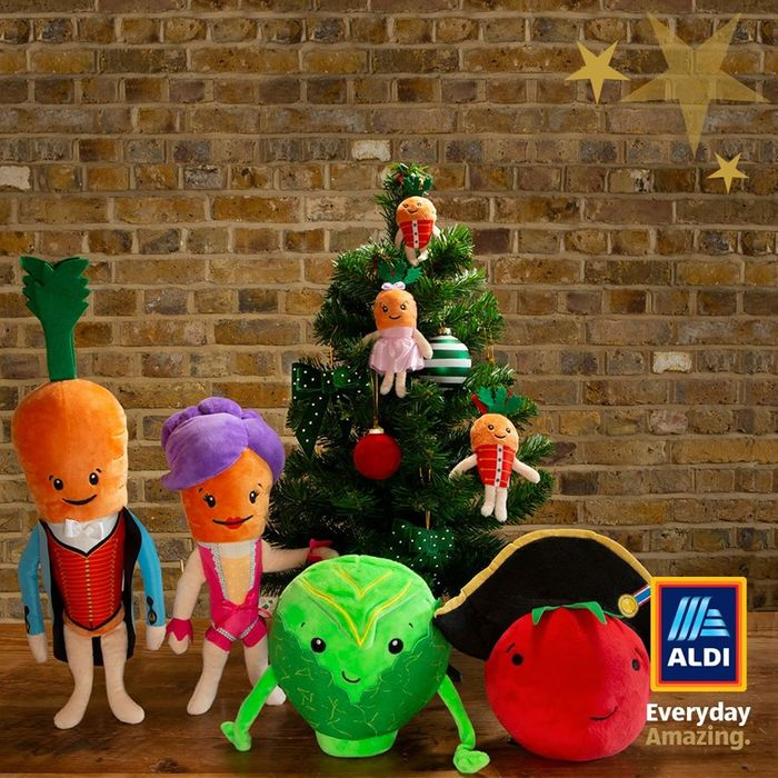 Kevin the Carrot and Family Toys - on Sale from Sunday 24th November online