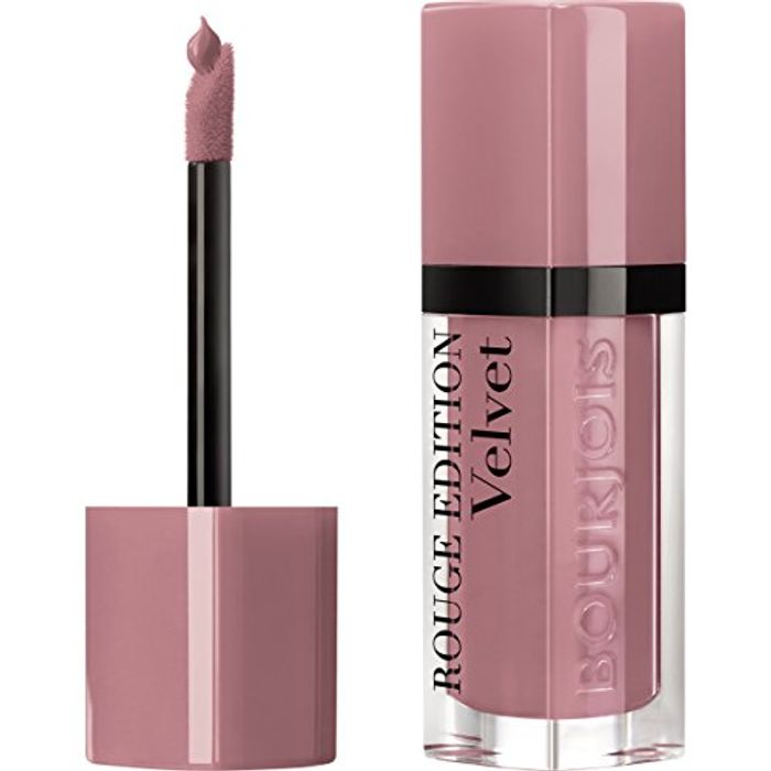 Bourjois Rouge Edition Velvet Liquid Lipstick 9 Happy Nude Year Nudes, 6.7ml