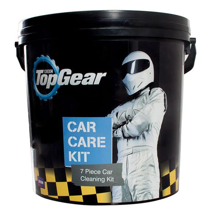 Little Tree Top Gear Car Care Bucket - 7pc Kit
