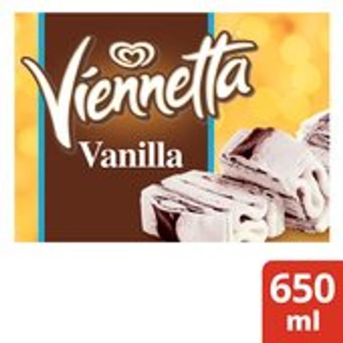 Viennetta Vanilla Ice Cream Dessert 650ml (Mint Also)