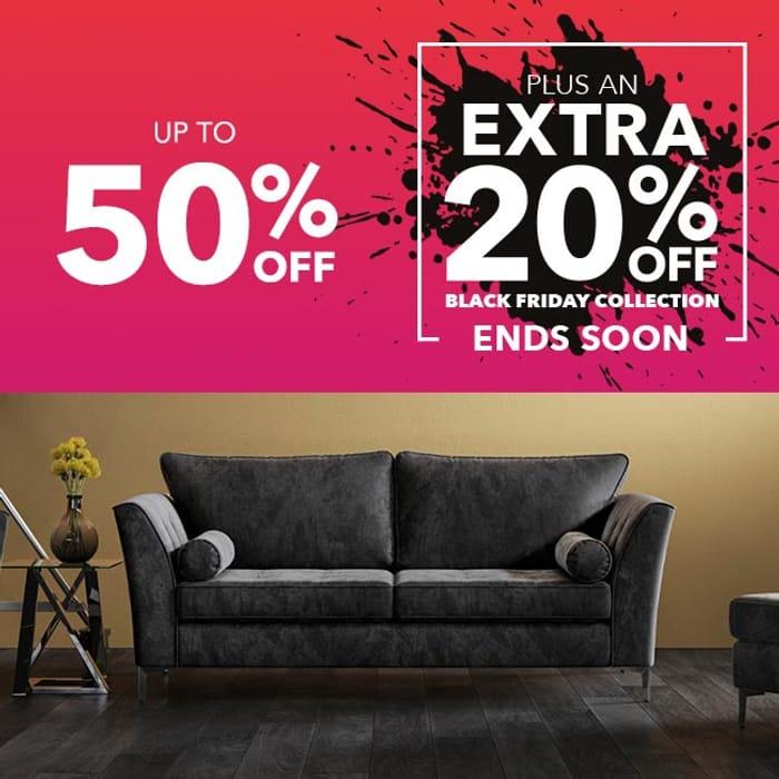 20% off Orders at Harveys Furniture Store