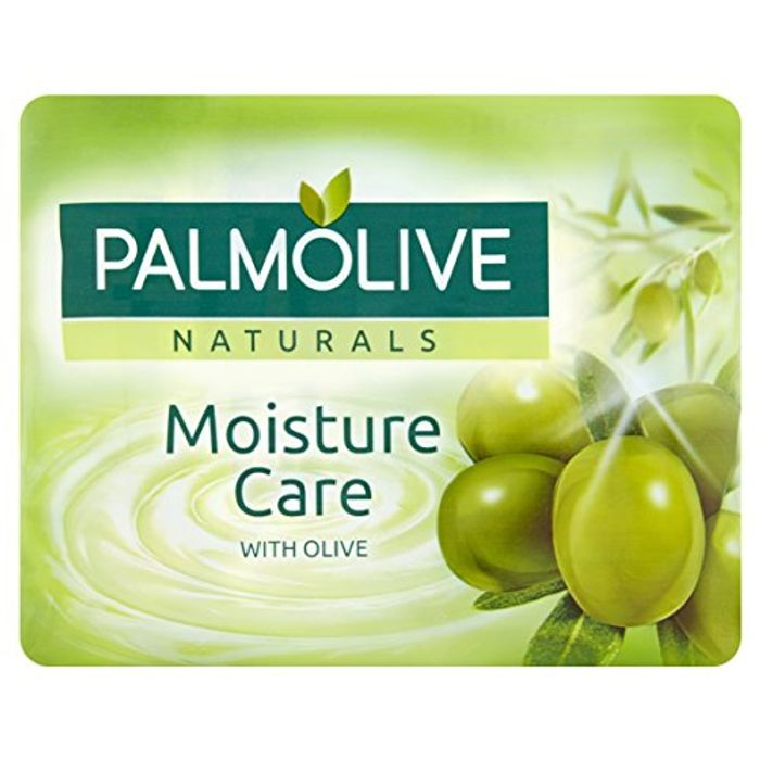 Palmolive Naturals Moisture Care with Olive Bar Soap, 4 X 90 G