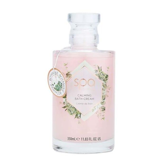 Style & Grace Botanique Bath Cream Glass Bottle 300ml