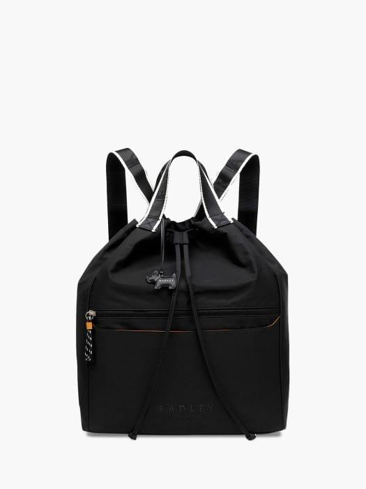 *SAVE £52* Radley Crofters Way Drawstring Backpack, Black