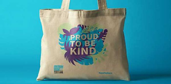 Sign up to Freedom from Torture and Receive a Free, Tote Bag worth £5.
