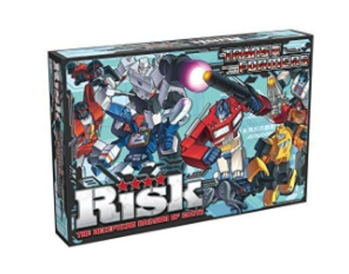 Transformers Risk Board Game Only £12.99