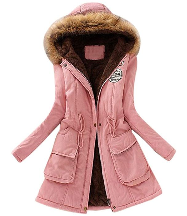Women's Parka Jacket down from £43.99 to Just £13.20