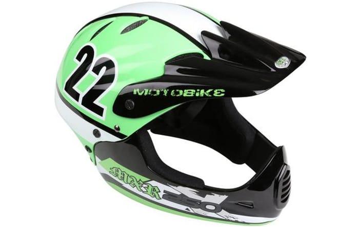 Motobike MXR250 Full Face Kids Bike Helmet