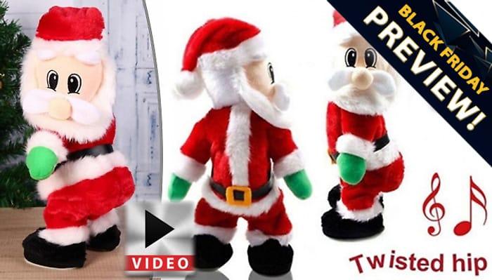 'Twerking' Santa Claus - Sings and Dances!