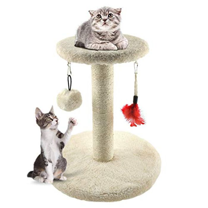 Zubita Cat Tree Tower, Cat Scratcher Kitty Furniture
