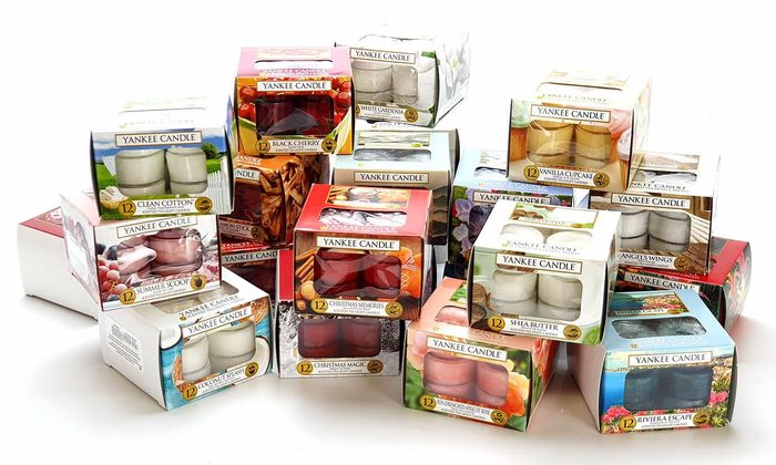 Yankee Candle Set of 5 Boxes of Assorted Tealights - 60 Candles Total