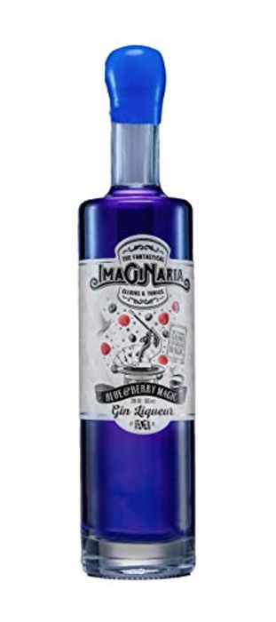 Imaginaria Blue and Berry Magic Gin Liqueur, 50 Cl Colour Changing