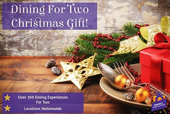 Christmas Dining for Two Experience - over 350 Dining Experiences for Two