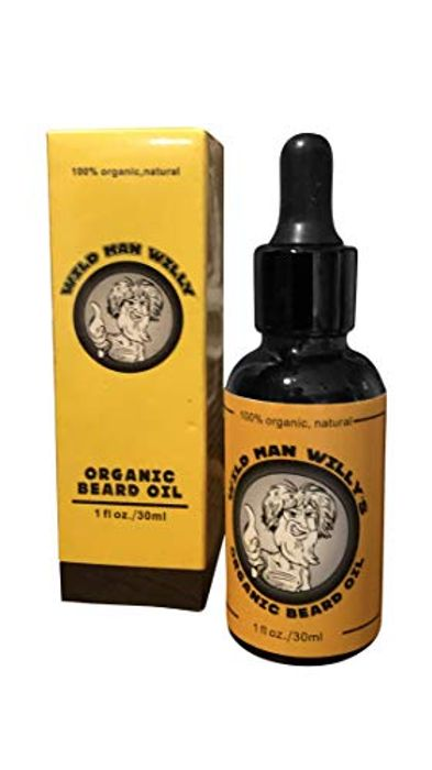 Best Price! Premium Beard Growth Oil All Natural Organic with Avocado Oil