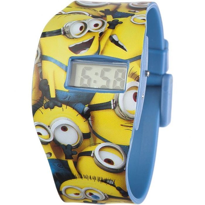 Cheap Childrens Character Despicable Me Minions Watch MNS24, Only £2.1!