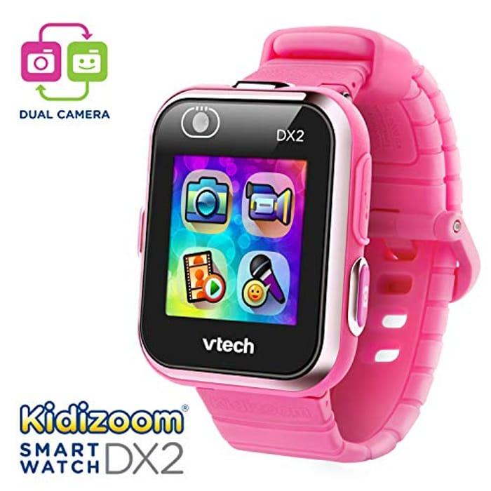 Vtech 80-193850 Kidizoom Smartwatch DX2, Amazon Exclusive, Pink