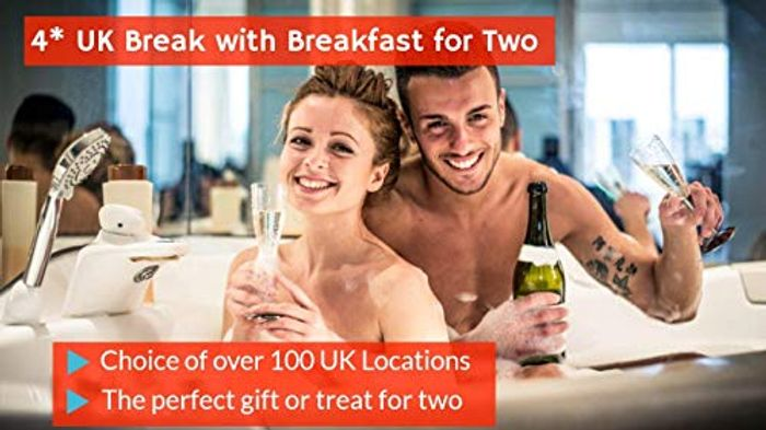 4* UK Break with Breakfast for Two - Choice of over 100 UK Locations