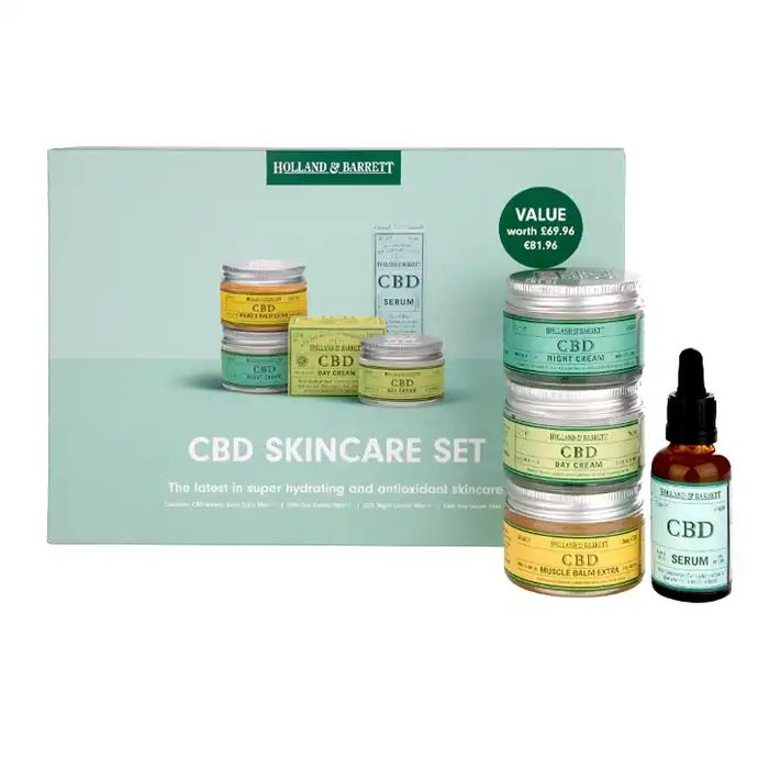 Holland & Barrett CBD Gift Set HALF PRICE