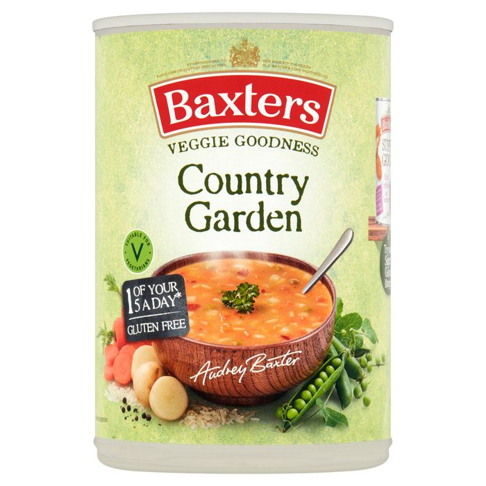 Cheap Baxters Vegetarian Country Garden Soup 400G, Only £0.75!