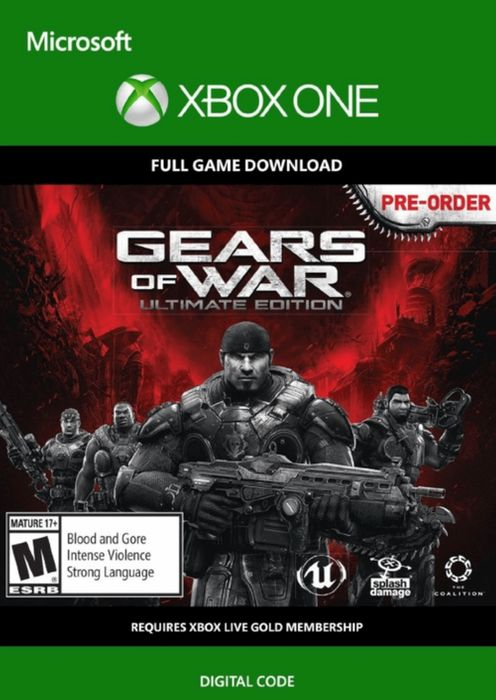 Xbox One Gears of War: Ultimate Edition (Digital Code) £1.29 at CDKeys