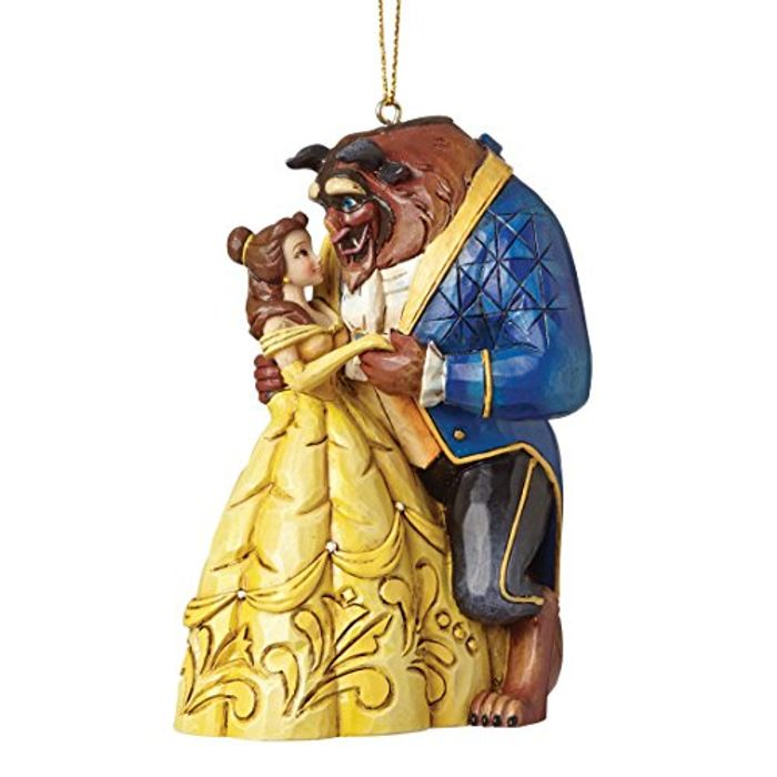 Special Offer - Disney Traditions Beauty and the Beast Hanging Ornament