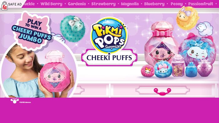 Play to Win a Cheeki Puffs Jumbo