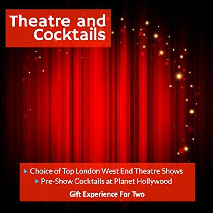 CHEAP! Theatre and Cocktails for 2 - Choice of London Theatre Shows & Cocktails