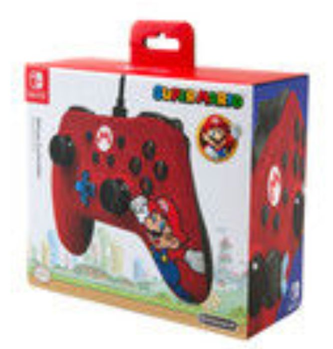 Best Deal Nintendo Switch Mario Wired Controller 12 At Asda Latestdeals Co Uk