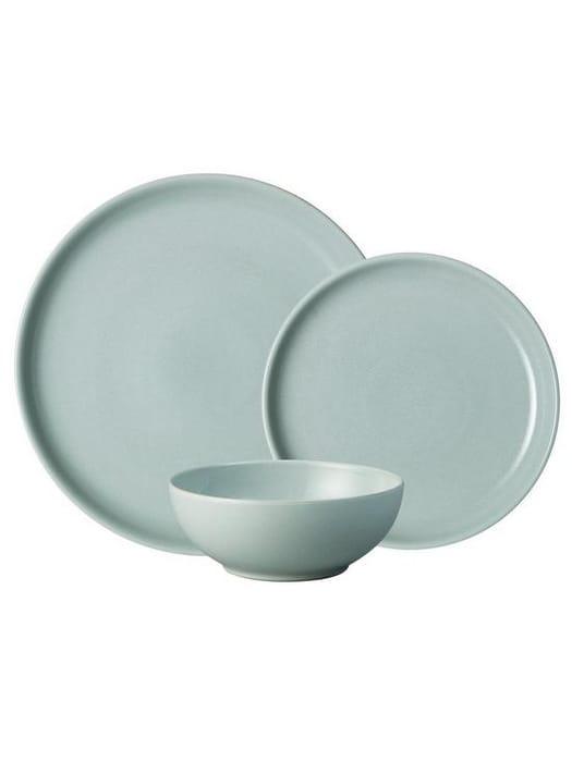 *HALF PRICE* Denby Intro 12-Piece Dinner Set Pale Blue