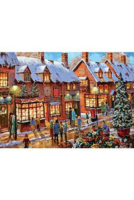 Santas Workshop 1000-Piece Jigsaw
