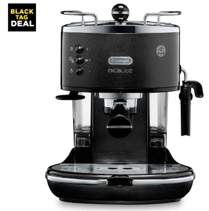 Best Price! DELONGHI Icona Micalite ECOM311.BK Coffee Machine