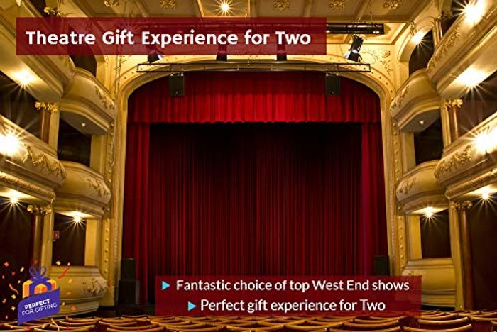 Best Price! Theatre Gift Experience for Two Choice of Theatre Shows