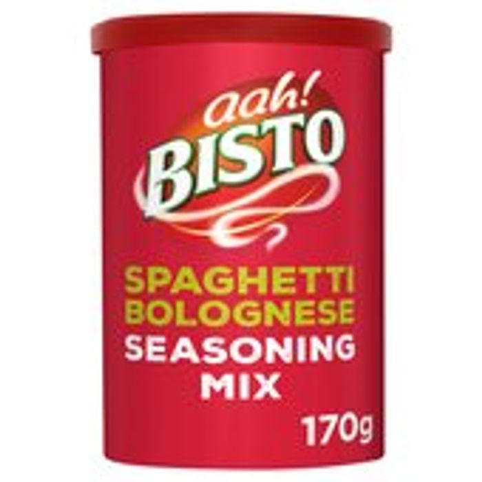 Bisto Spaghetti Bolognese Recipe Mix 170g 2 Tubs for £2.50!