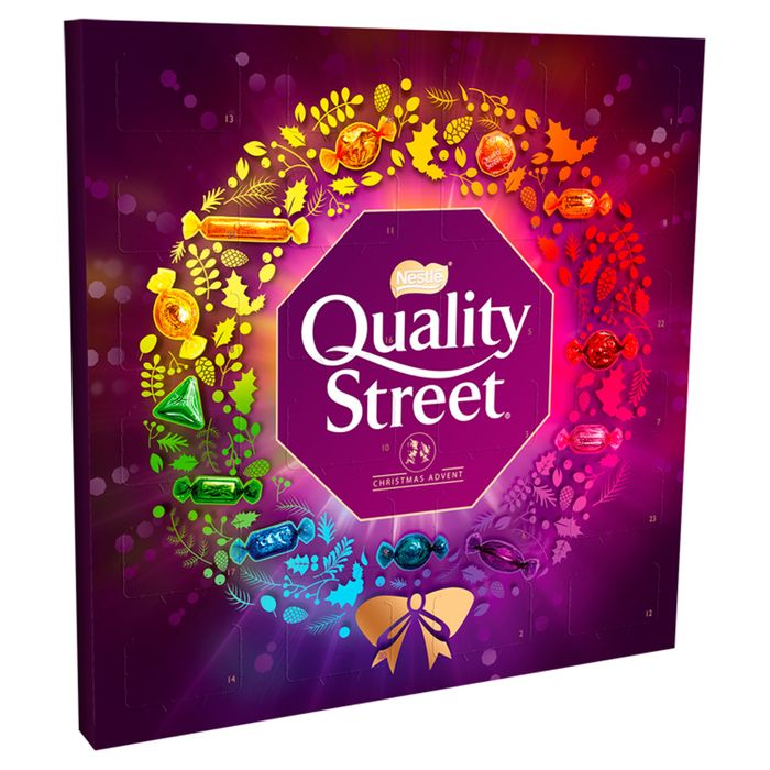 Quality Street Advent Calendar 222G Down From £4 to £2.5