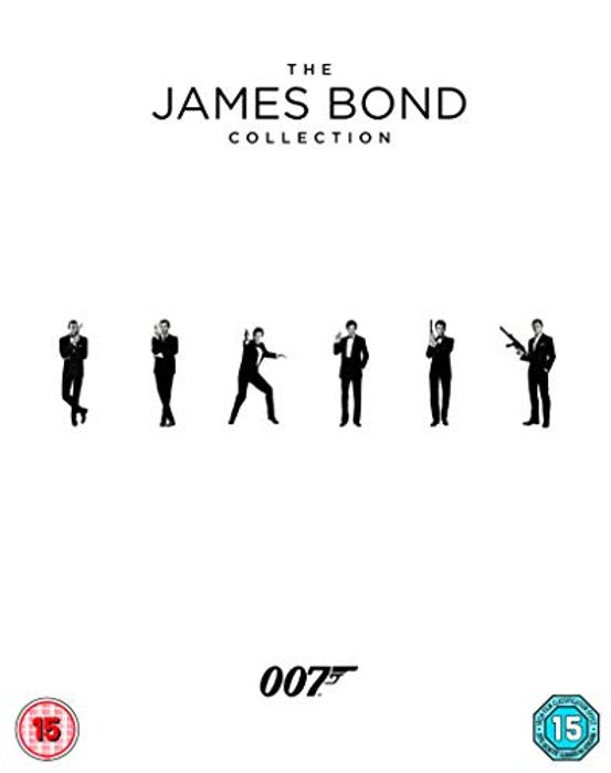 The James Bond Collection 1-24 Blu-Ray Box Set