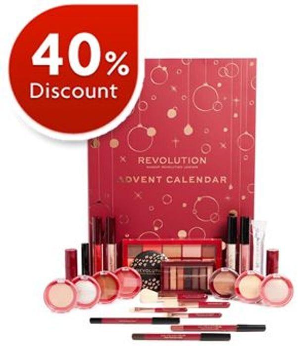 £20 OFF! Revolution Beauty ADVENT CALENDAR