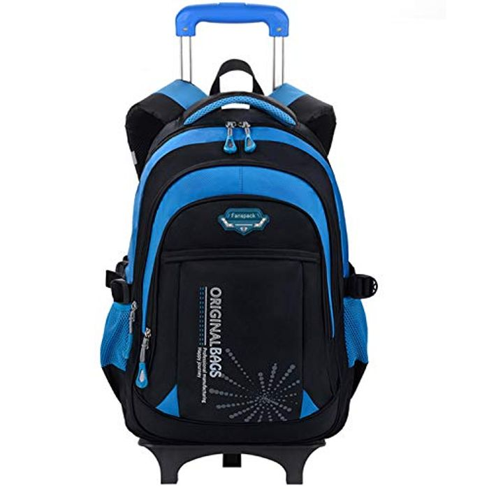 Rolling Backpack with 2 Wheels 72% off + Free Delivery
