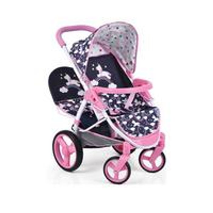 Bargain! Hauck Unicorn Malibu Doll Twin Stroller at Very - 43% Off!