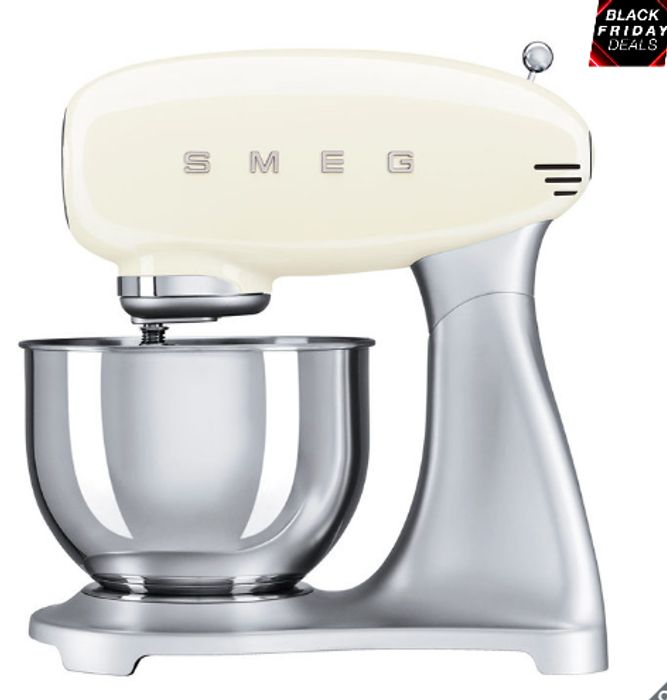 SMEG Stand Mixer SMF01CRUK - Save £60 with Code! Only £189.99