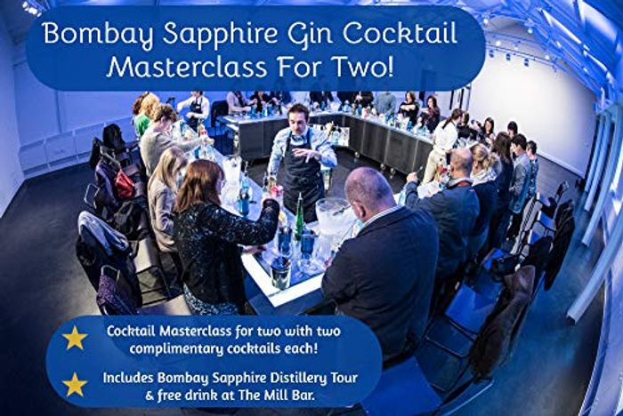 Bombay Sapphire Gin Cocktail Masterclass for Two - Gift Experience for 2
