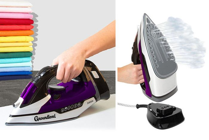 Fantastic 75% Discount Cordless 2400W Steam Iron