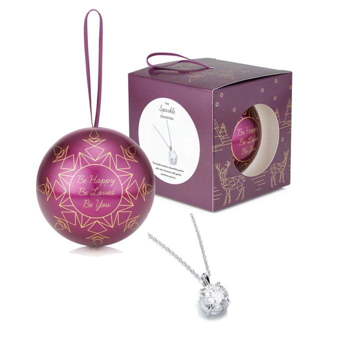 WOW BUY - Beautiful Xmas Tree Bauble with Sparkle Pendant