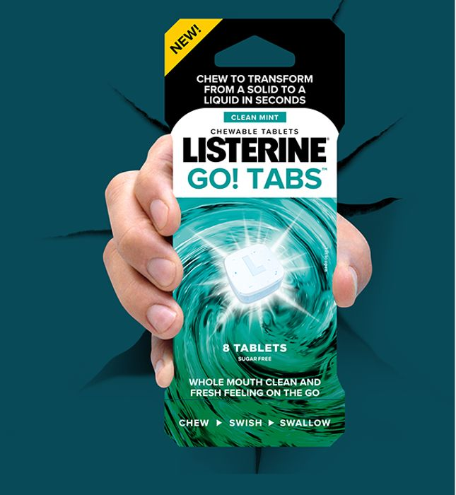 Grab a Free Pack of Listerine Go TabsTM Today!