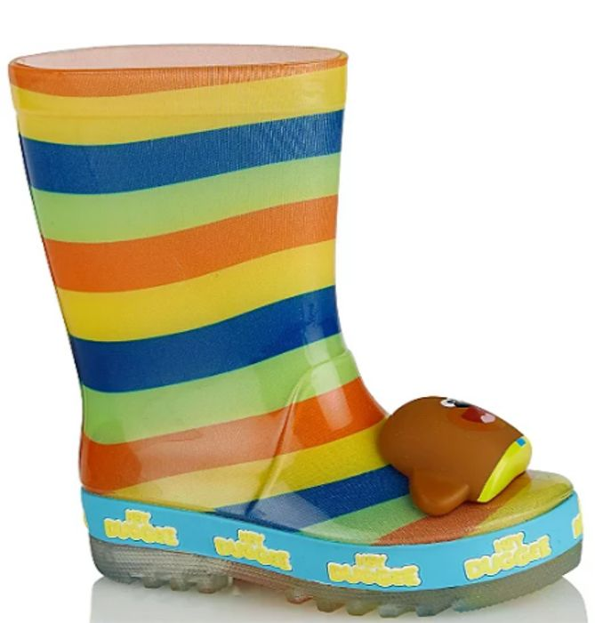 First Walkers Hey Duggee Light up Wellington Boots