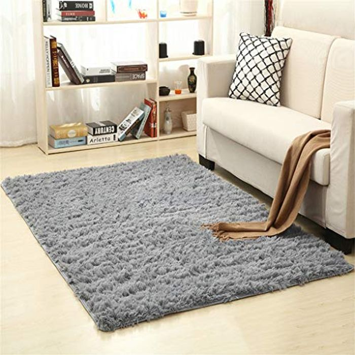 Super Soft Faux Fur Rug for Bedroom Sofa Living Room Area Rugs 80x160cm
