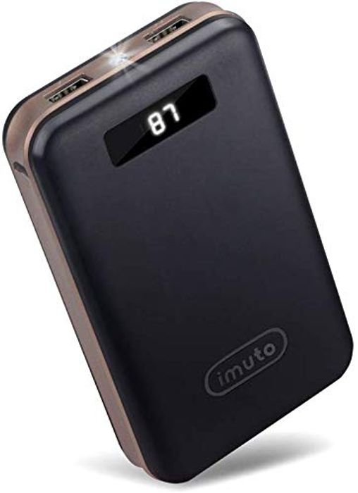 20000mAh Compact Portable Charger Power Bank External Battery for £16.08