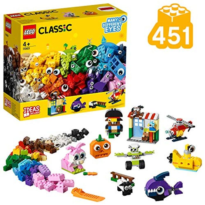LEGO Classic - Bricks and Eyes Set - 451 Pieces! (11003)