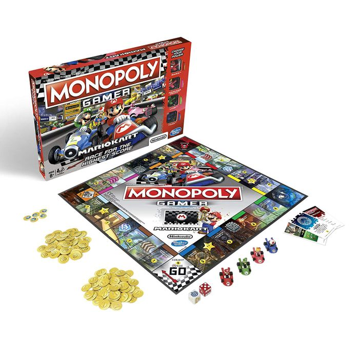 Cheap Monopoly Gamer Mario Kart Board Game, Only £16.95!