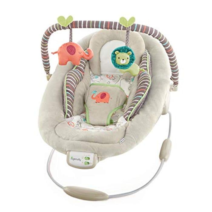 Ingenuity Comfort & Harmony Cradling Bouncer in Cozy Kingdom