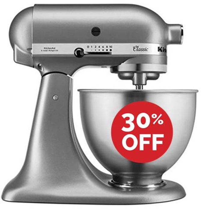 £123 OFF! KitchenAid Classic Stand Mixer